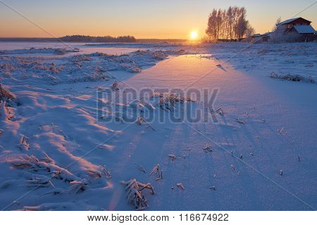 First Rays Of Sun
