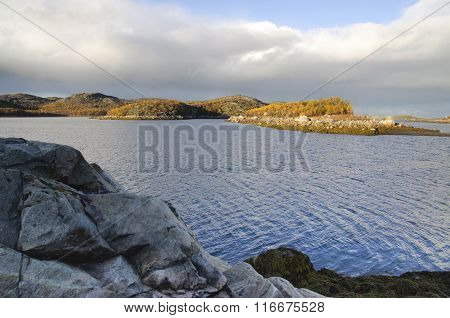 The landscape of the Kola Peninsula