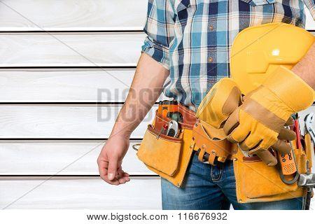 Repairing.