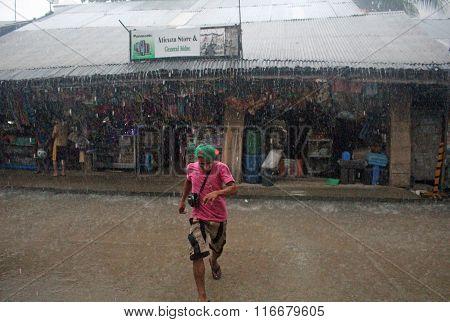 Typhoon Melor Philippines