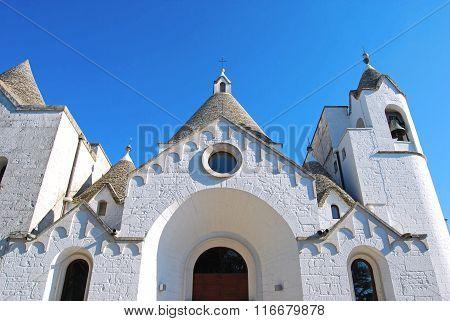 A Trullo Church In Alberobello In Puglia - Italy N 102