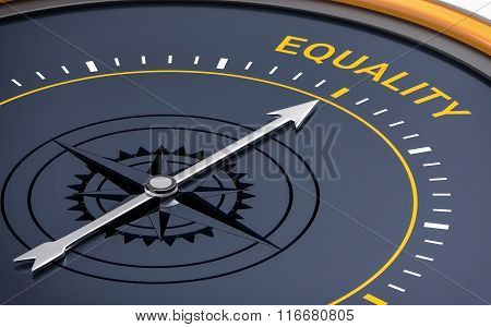 3D Compass. Equality Word