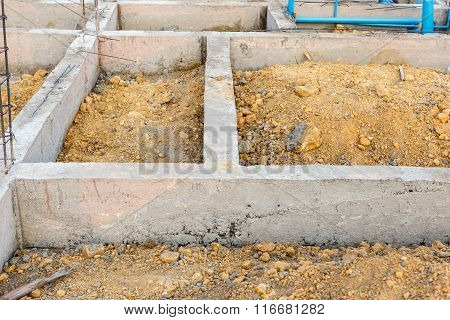 Foundation For House Building