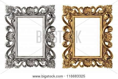 Frame Picture, Photo, Image. Vintage Baroque Object