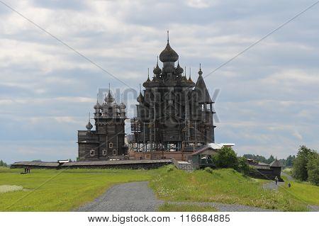 The church of the transfiguration of our Saviour, Kizhi, Karelia.