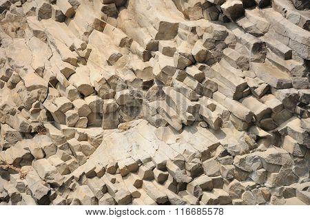 Diagonal Rock Texture Background