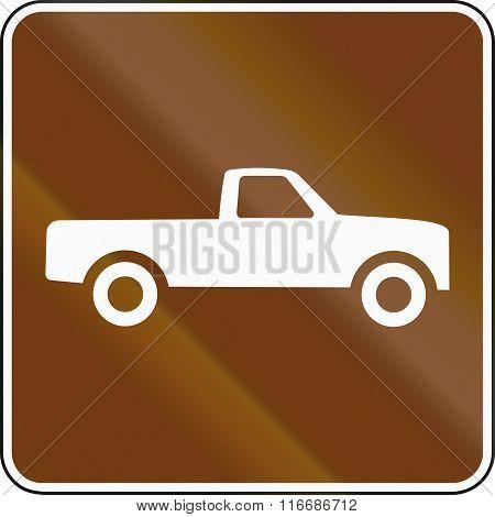 United States Mutcd Guide Road Sign - Pick-up Trucks