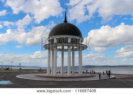 Rotonda, Petrozavodsk, Russia.