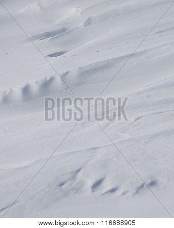 Small Snowdrifts