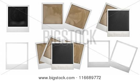 Photo Frames   Isolated. Photo Scrapbook