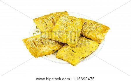 Pies Sprinkled With Sesame Seeds