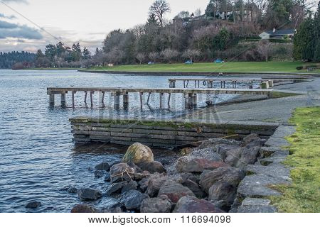 Lake Washington Piers 6