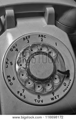 Old Phone - Antique Rotary Dial Telephone IV