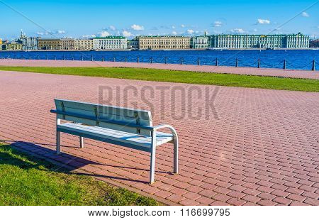 The Bench On The Promenade