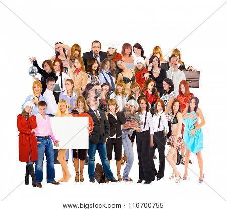 Together we Stand Workforce Concept