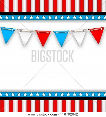 Abstract Background for National Holidays of USA