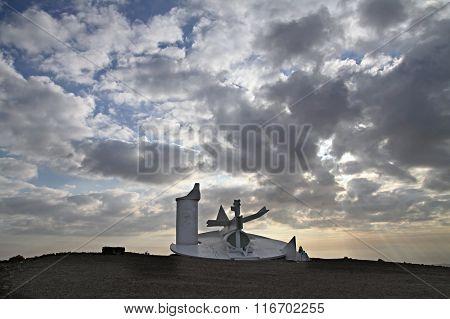 Modern Sculpture In The Negev Desert, Israel