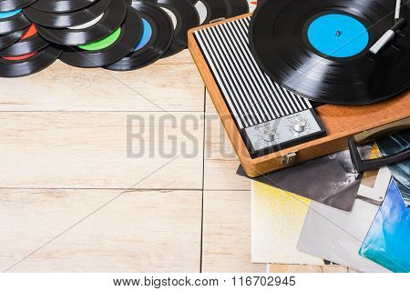 Player Record And Vinyl