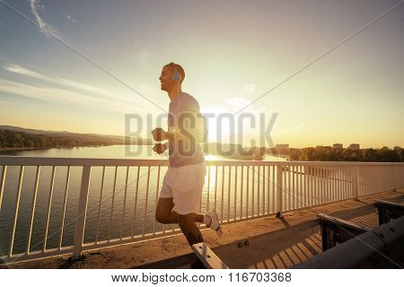 Beautiful Sunset Run