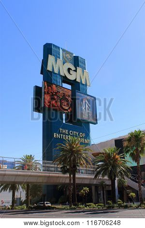 Las Vegas - Mgm Hotel And Casino