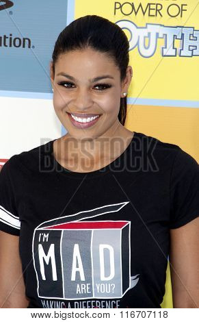 Jordin Sparks at the Variety's Power Of Youth held at the Paramount Studios in Los Angeles, United States on September 15, 2012.