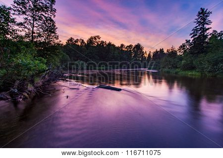 Namekagon River Sunset