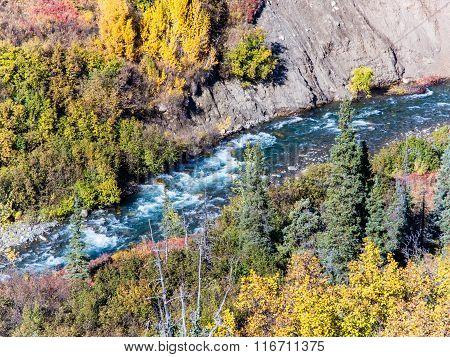 Whitewater On Windy Creek, Alaska
