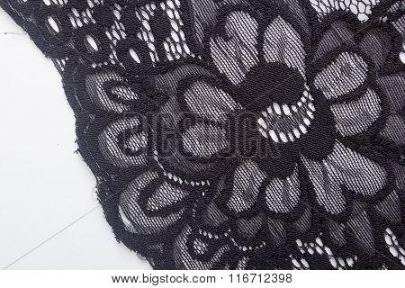 Lacy Black Cloth