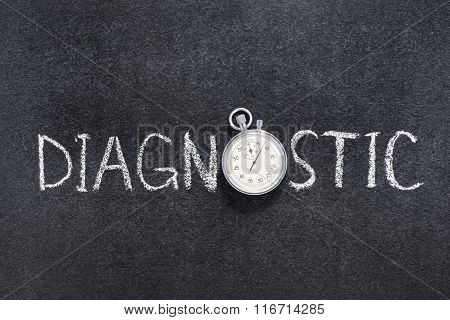 Diagnostic word watch