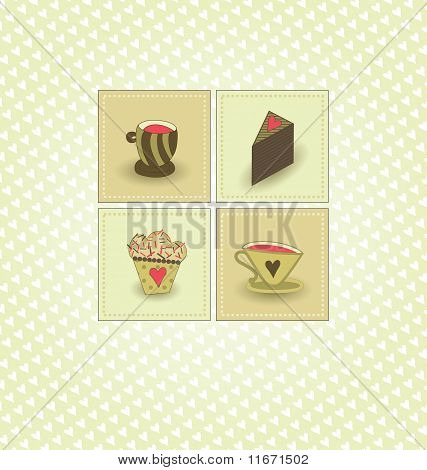 Cafe Vector Background
