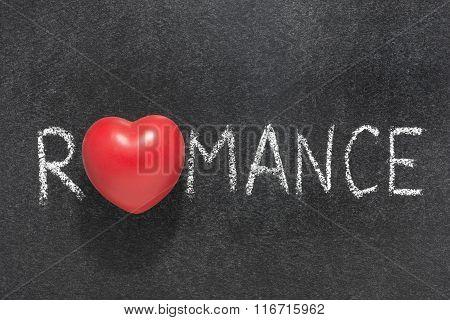 Romance Word Heart
