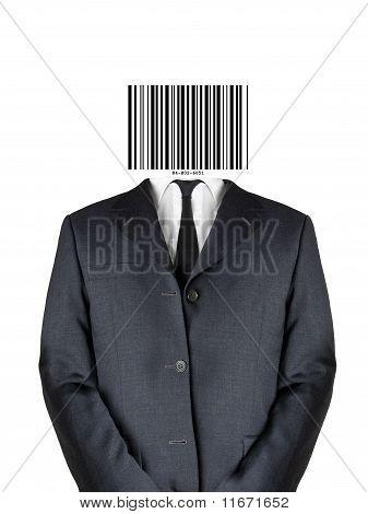 Bar Code Man