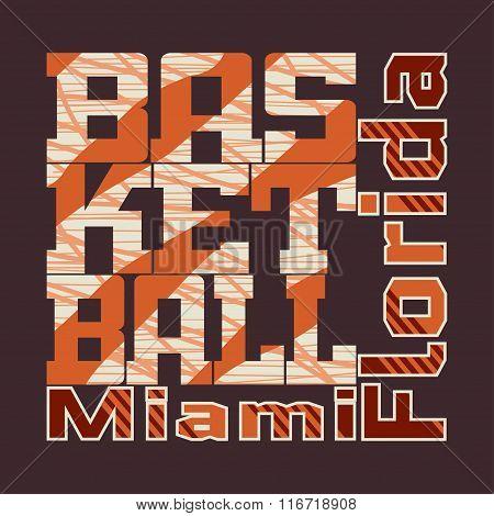 T-shirt Basketball Design