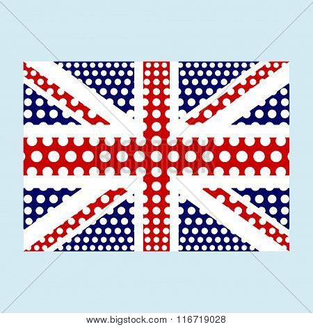 Gb Flag With Effects