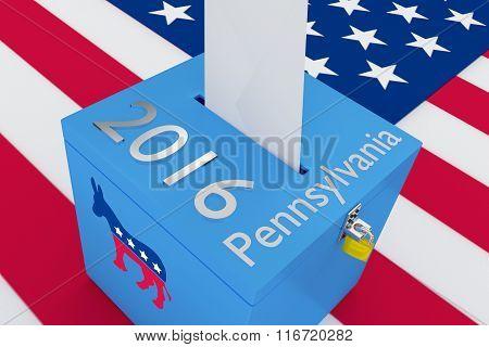 Pennsylvania 2016 Democrat