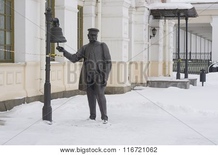 Sculpture Postmaster Bells
