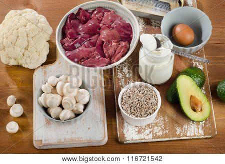 Foods Highest In Vitamin B5