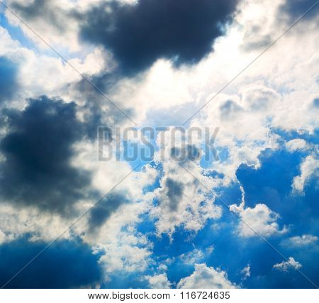The Tropical Sky In Greece Europe And  Fantastic Mystic Nature