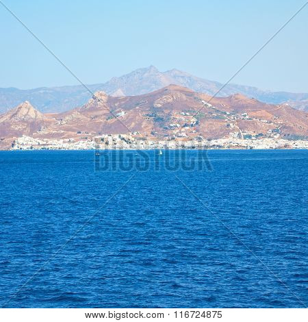 From The Boat Greece Islands In Mediterranean Sea And Sky