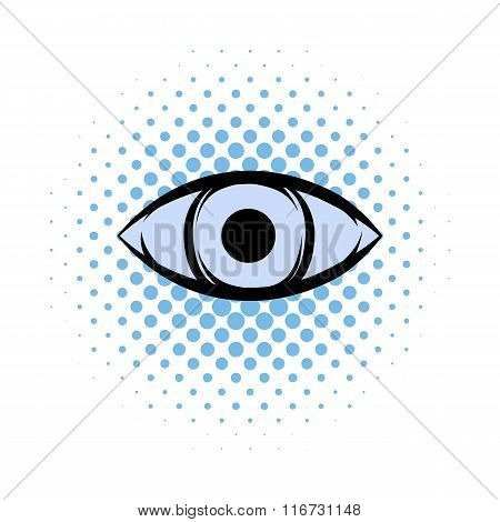 All-seeing eye comics icon