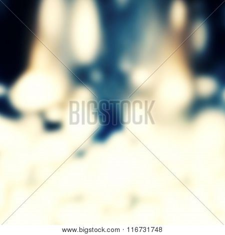Artistic Fire Flare Blur Background. Abstract Defocused Lens Flare  Festive Texture. .