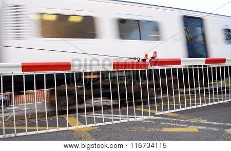 Red rail ramp