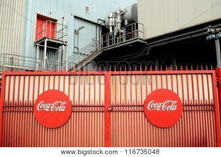 Coaca Cola plant