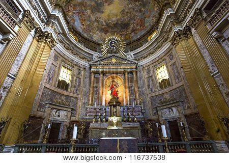 Church Of The Gesu, Rome, Italy