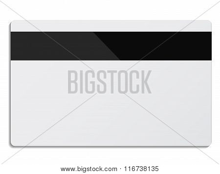 White Credit Card