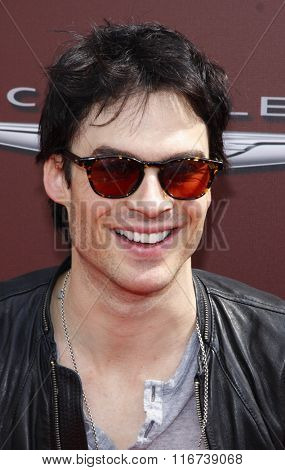 WEST HOLLYWOOD, CALIFORNIA - March 11, 2012. Ian Somerhalder at the John Varvatos 9th Annual Stuart House Benefit held at the John Varvatos Boutique, Los Angeles.