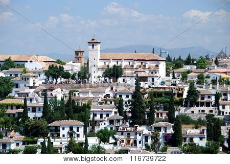 Saint Nicholas Church, Granada.