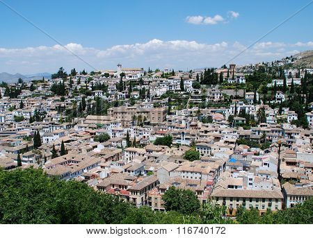 Albaicin District, Granada.