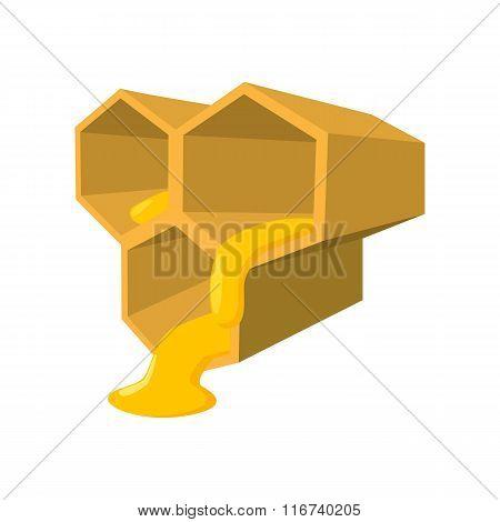 Honeycomb cartoon icon