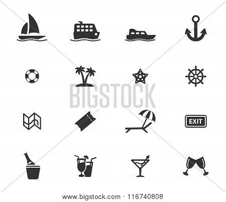 Cruise simply icons